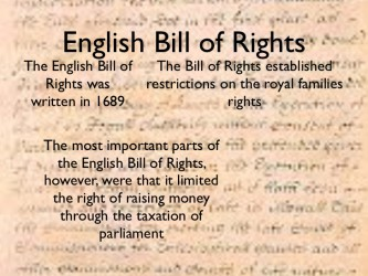 english bill of rights 2