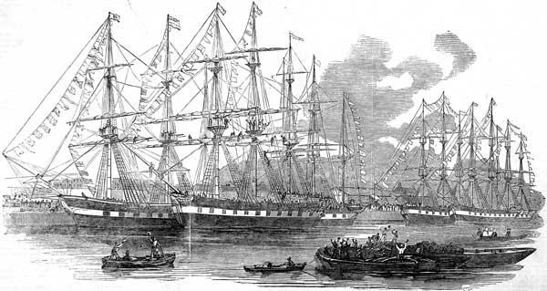 canterbury ass ships east india docks 1851 bangalore