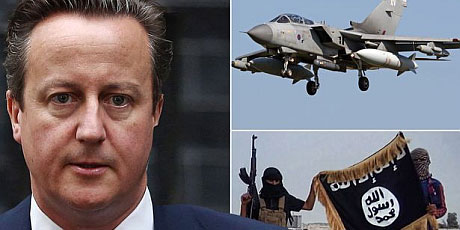 David Cameron Wants to Bomb Syria
