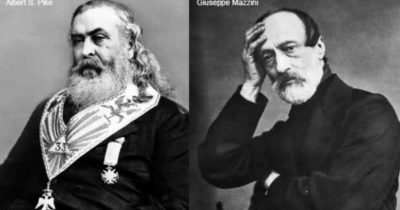 In Profile : Three World War Strategy, Letter from Pike to Mazzini 1871