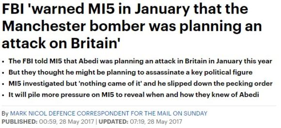 Salman Abedi, the Manchester Suicide Attack, the facts