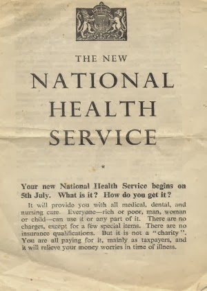 Privatised NHS, not a good idea with the concerns of physician's in the United States