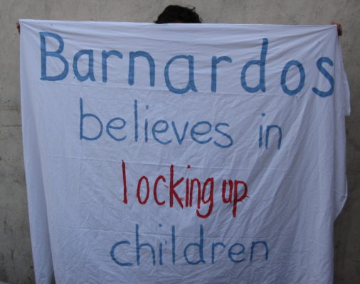Barnardos supports itself through the detention of children and child removal
