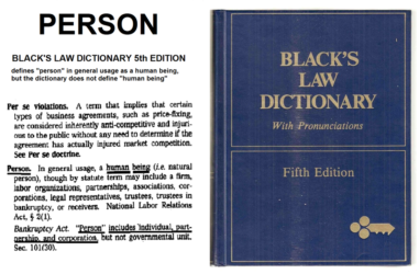 Blacks Definitions of [Legal] Law