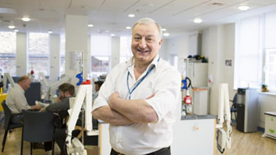 Professor Martin Gore CBE dies in minutes after yellow fever vaccination