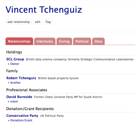 Subverting British politics, Vincent Tchenguiz the gambler in politics