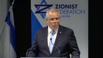 Australia's 6th Jerusalem prize goes to Scott Morrison