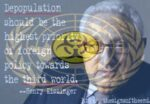 Quotes from the insane on depopulation
