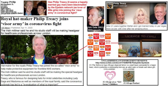 Wall's, Unilever, Epstein, Ark and the blackmailing for Covid support