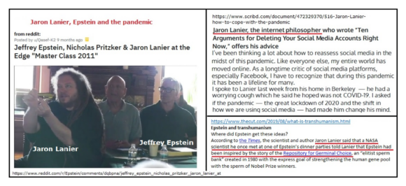 Pandemic's pseudoscience born through the hands of Jeffrey Epstein