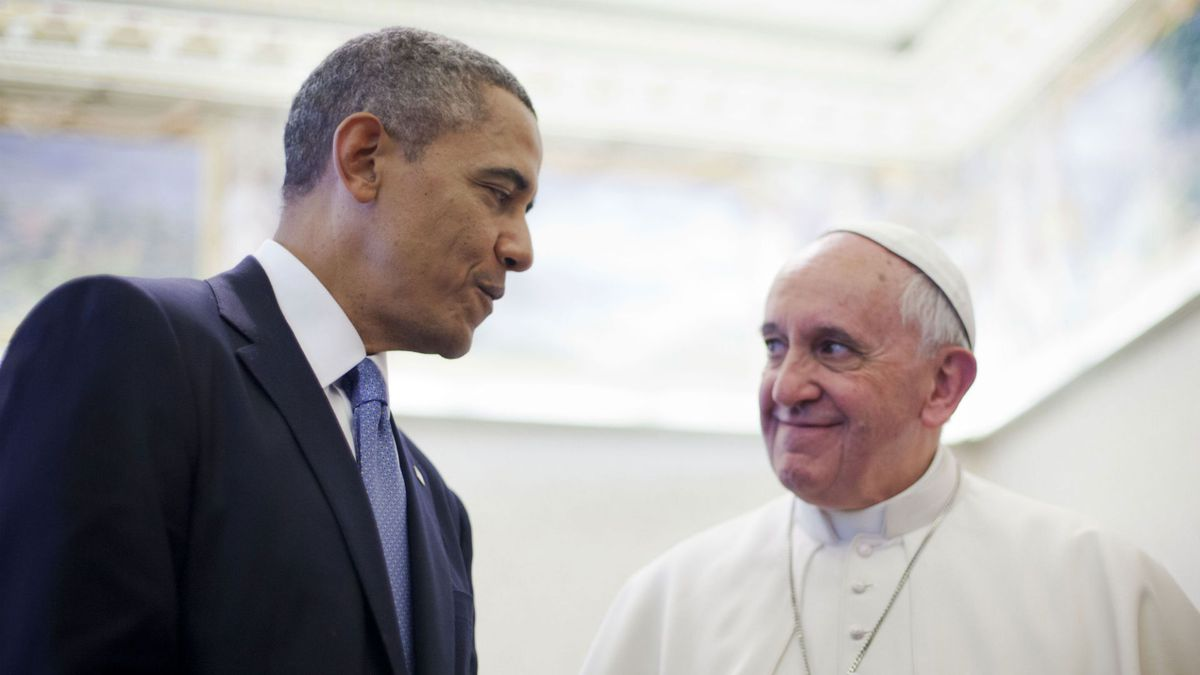 Recap - is the Pope acting as U.S. Military Commander in Chief?