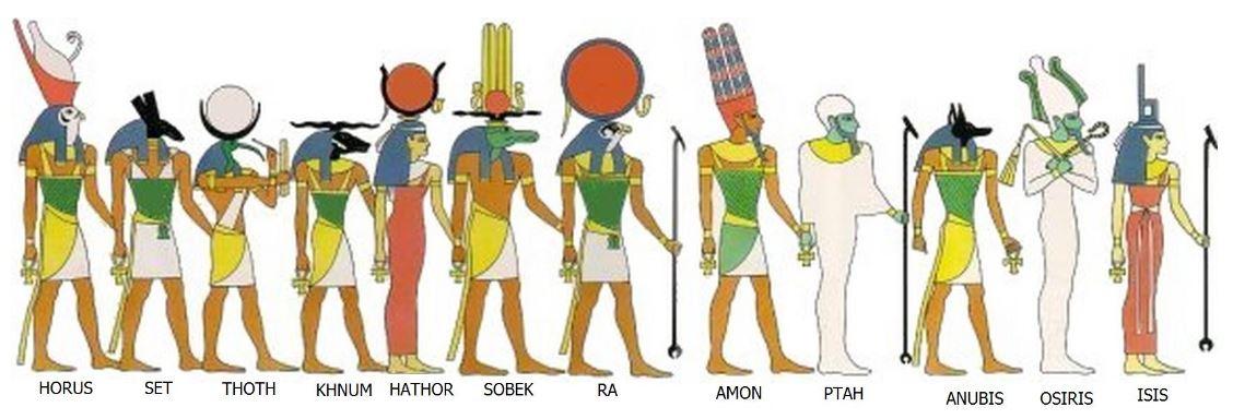 The Gods of the Egyptians or Studies in Egyptian Mythology